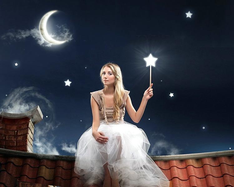 фея с волшебной палочкой