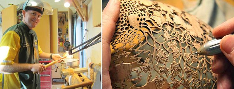 Очаровательные резные вазы Гордона Пембриджа (30 фото)