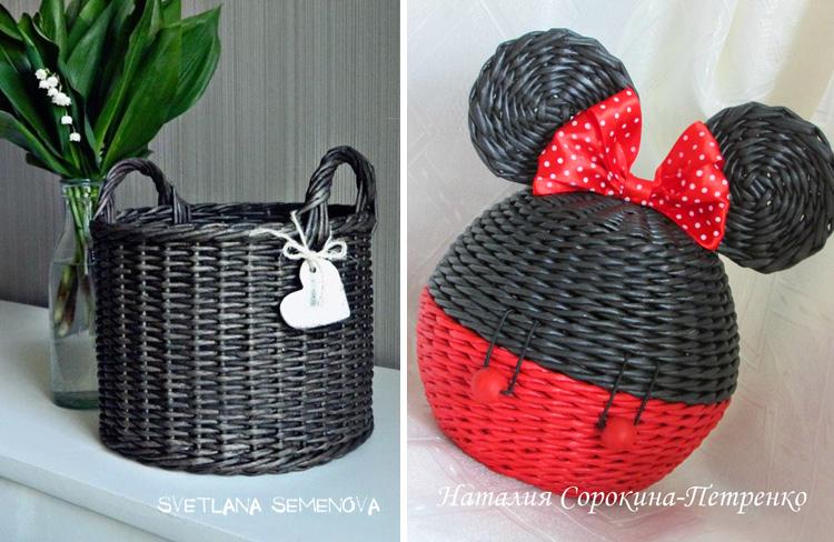 черный цвет в плетении