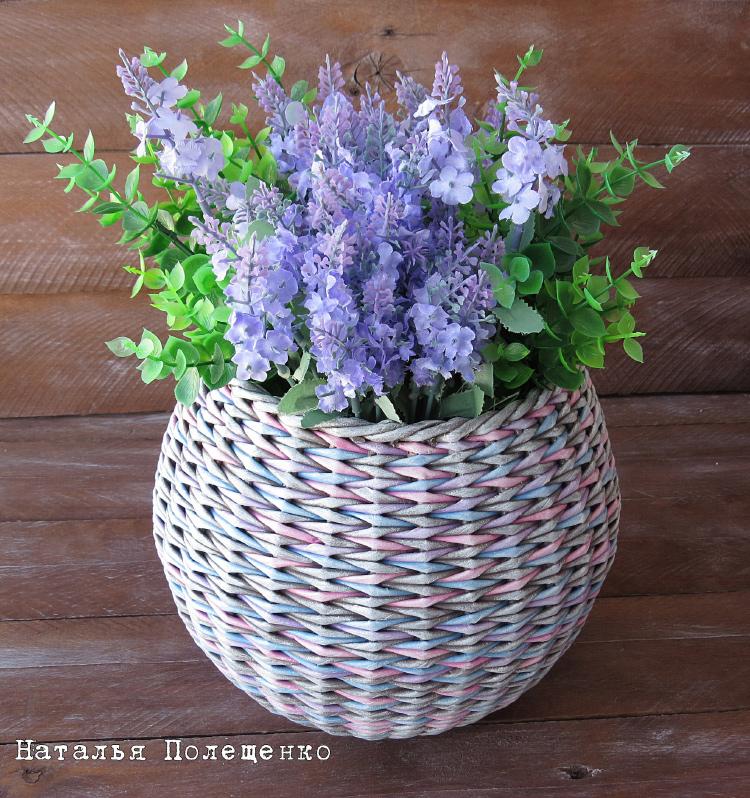 ваза - прямая и обратная веревочка