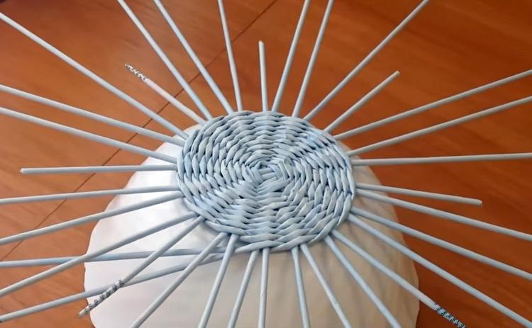 плетем по форме
