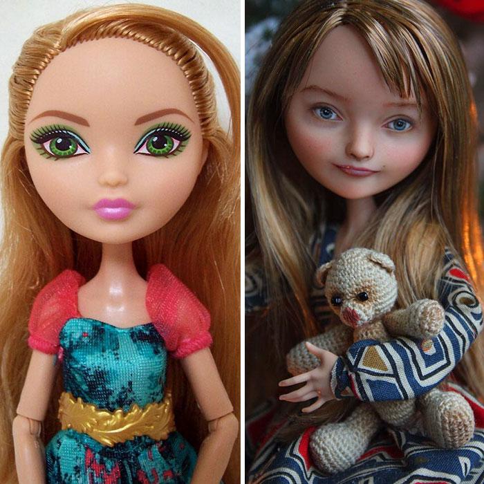Куклы Ольги Каменецкой почти как настоящие! (20 фото)