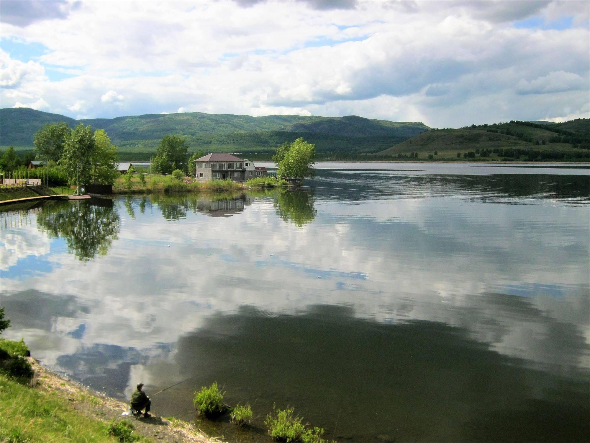 Башкирия. Озеро Сабакты.