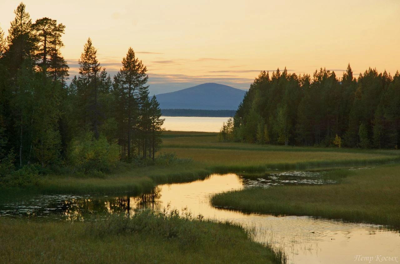 Колвицкое озеро, Мурманская область.