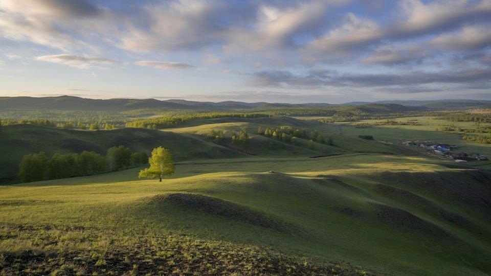 Южный Урал на рассвете, фотограф — Леонид Максименко