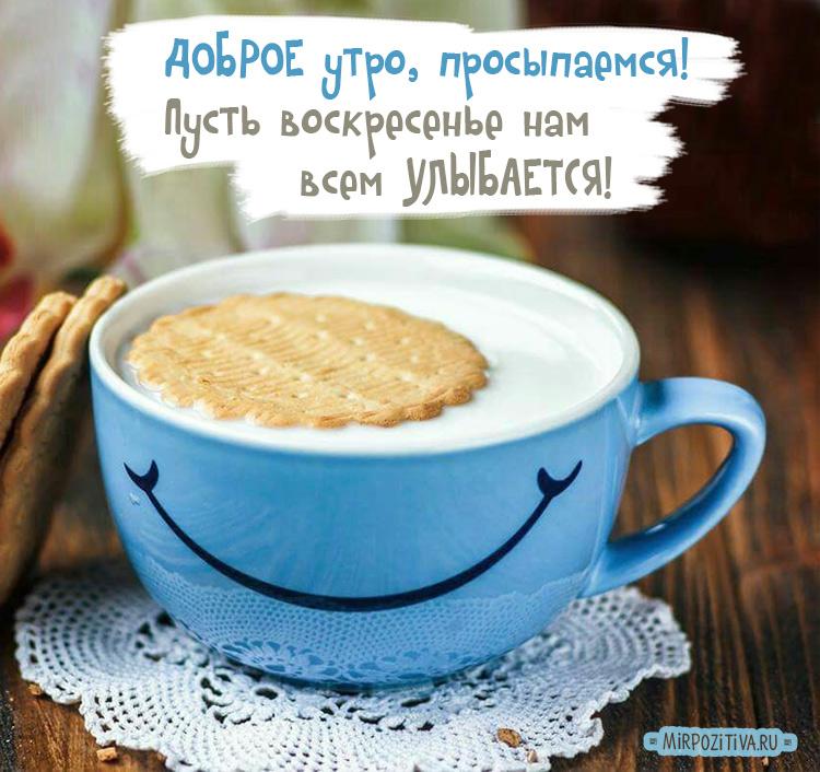 улыбка на чашке