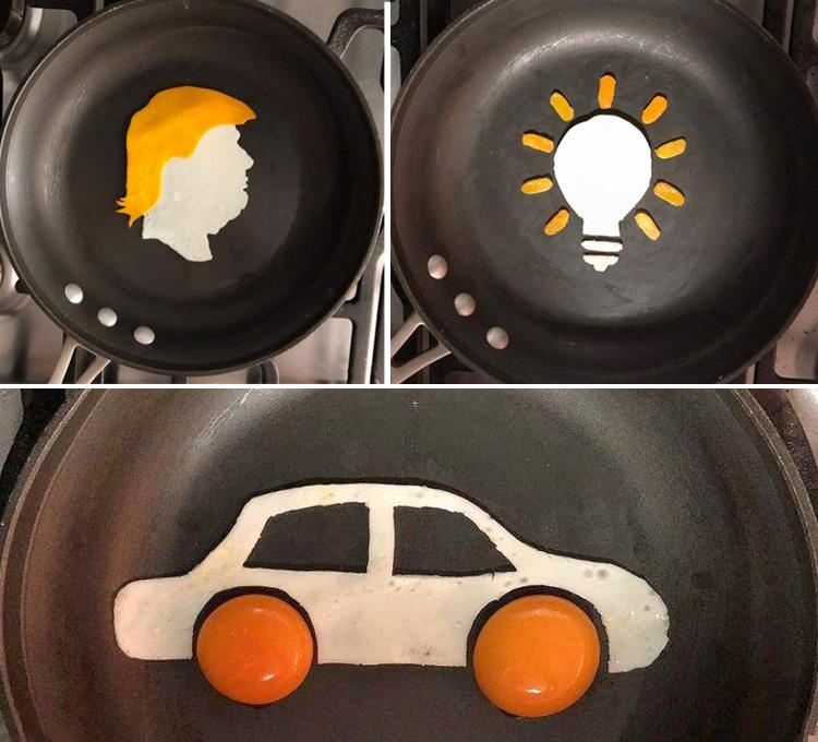 Долой скучную глазунью. Яйца можно подавать красиво! (20+ фото)