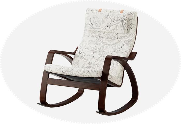 кресло-качалка икеа