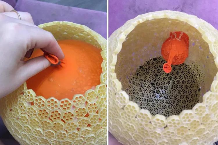 сдуваем шарики