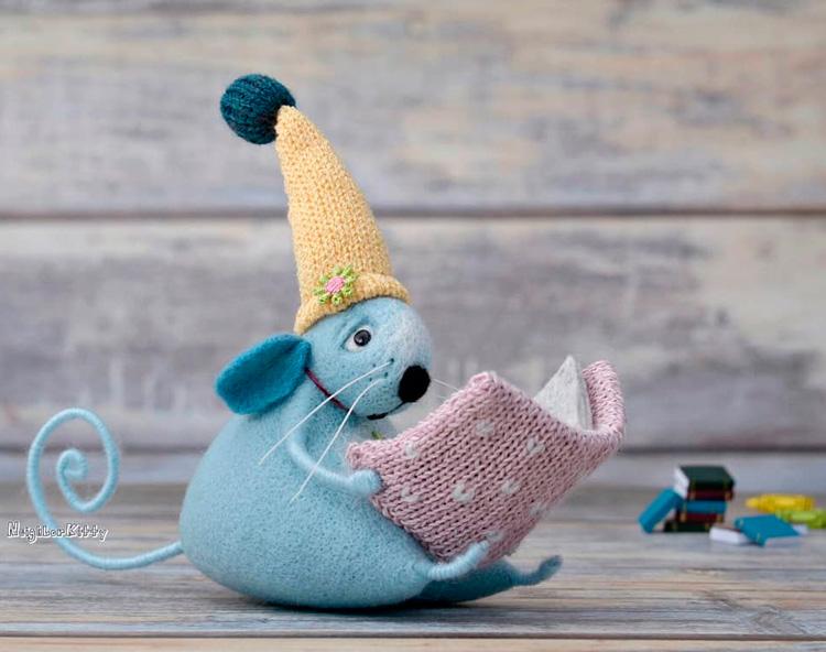 Валяная доброта в игрушках от Elena Covert (35 фото)