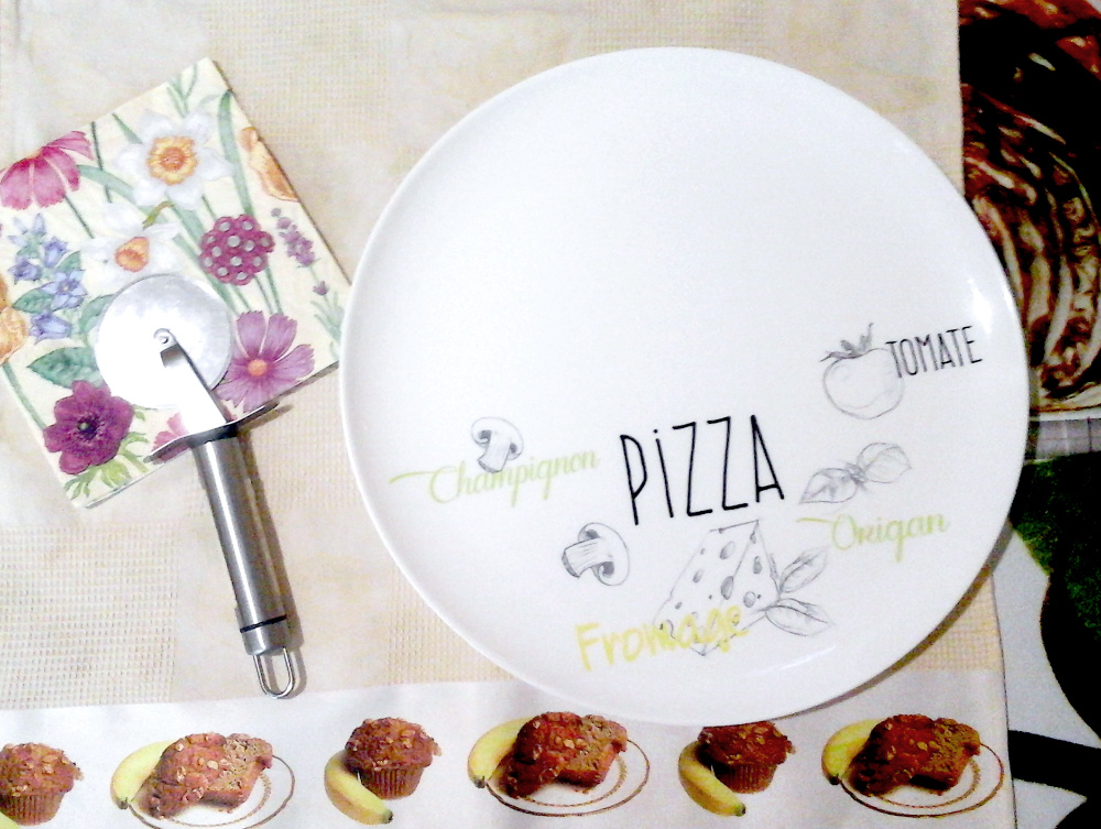 тарелка для пиццы