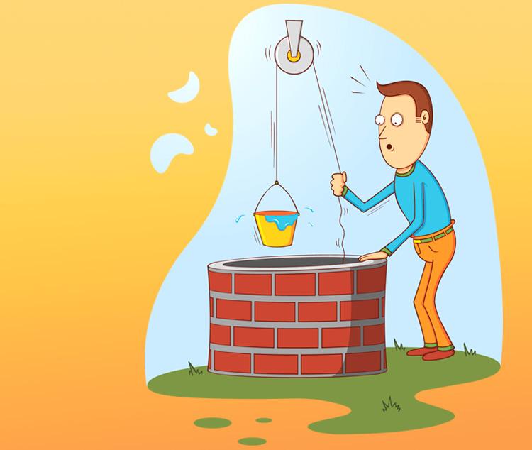 Анекдот «Как кум 2 ведра воды просил». Или причём тут тёща