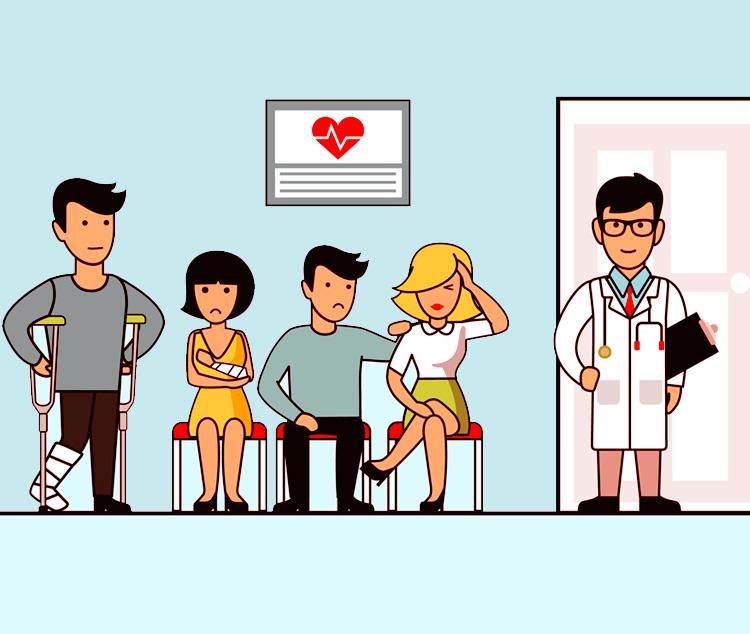 На приём к хирургу. Случай в поликлинике