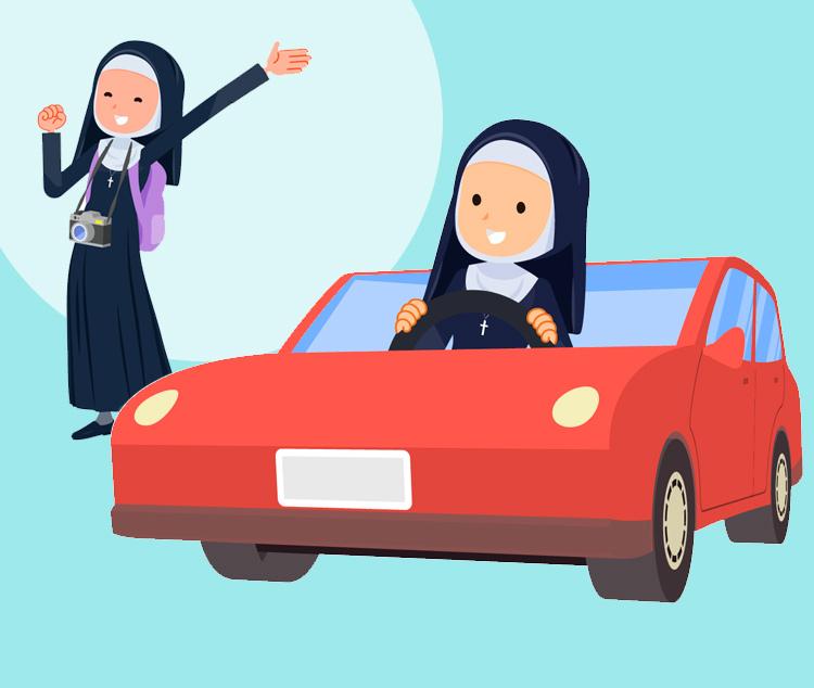 Анекдот про двух монашек