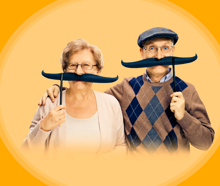 Старость в радость! 3 анекдота