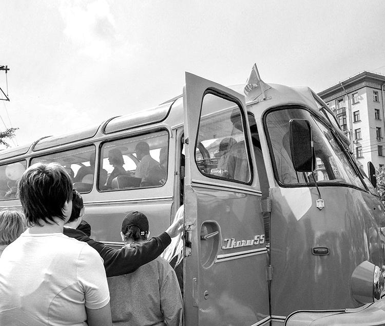 автобус СССР
