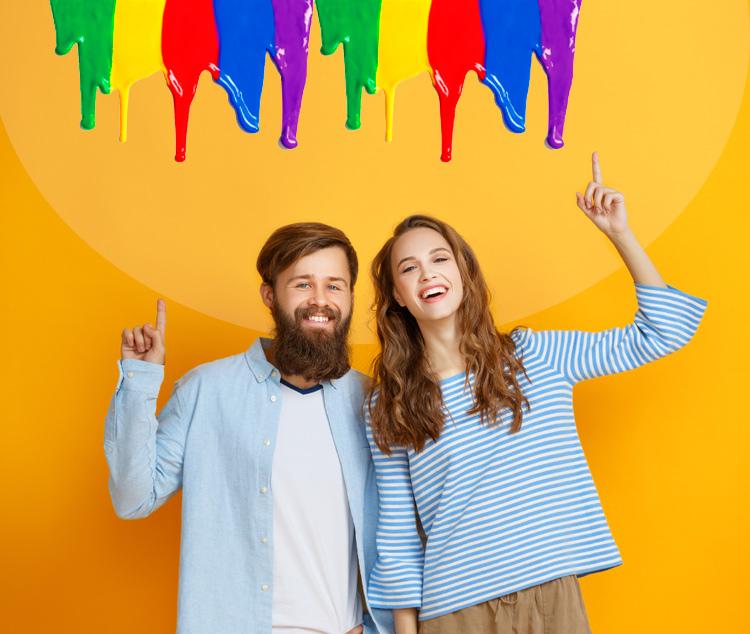 цвет и человек