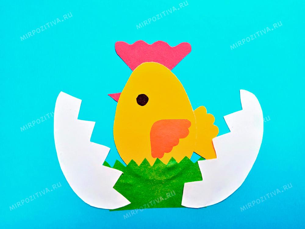 в яйце