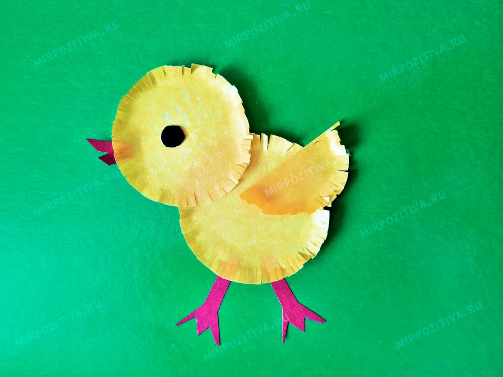 цыпленок из кружочков