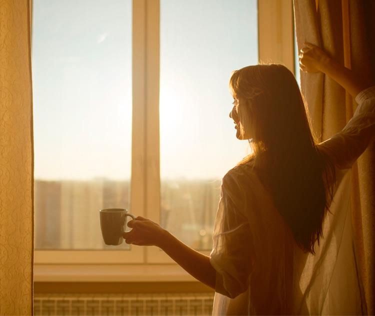утро, новый день