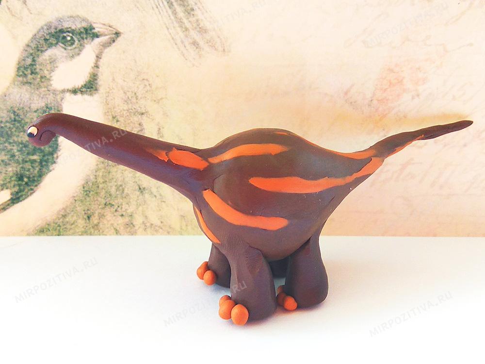 брахиозавр готов